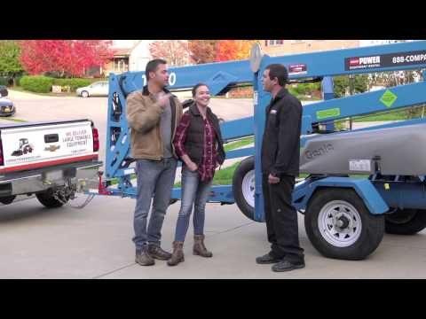 How To Operate Genie Aerial Equipment