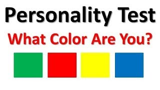 Personality Test | What Color Are You?