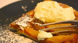 Rustic Pear Tart Recipe  | Msdessertjunkie