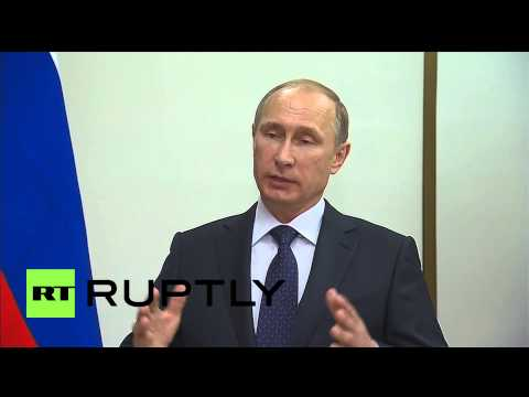 Russia: 'Ceasefire in Ukraine has to start soon, Donbass embargo must stop' says Putin