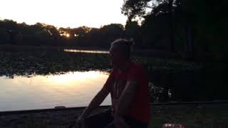 Carp fishing  Cambridge pond.