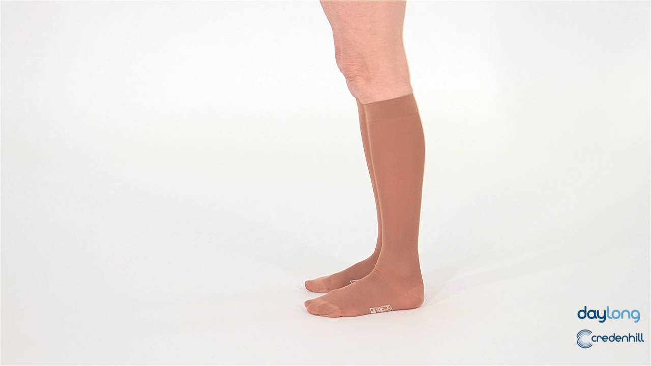 386857372e Activa Class 1 Below Knee Support Stockings Honey Women - YouTube