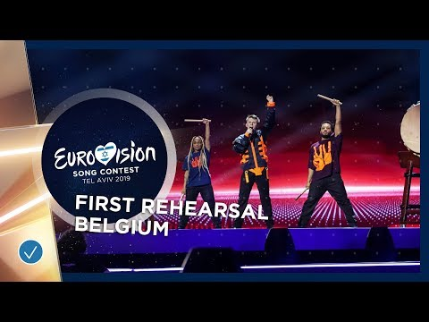 Belgium 🇧🇪 - Eliot - Wake Up - First Rehearsal - Eurovision 2019