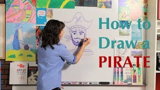 How to Draw a Pirate - Great Artist Mom