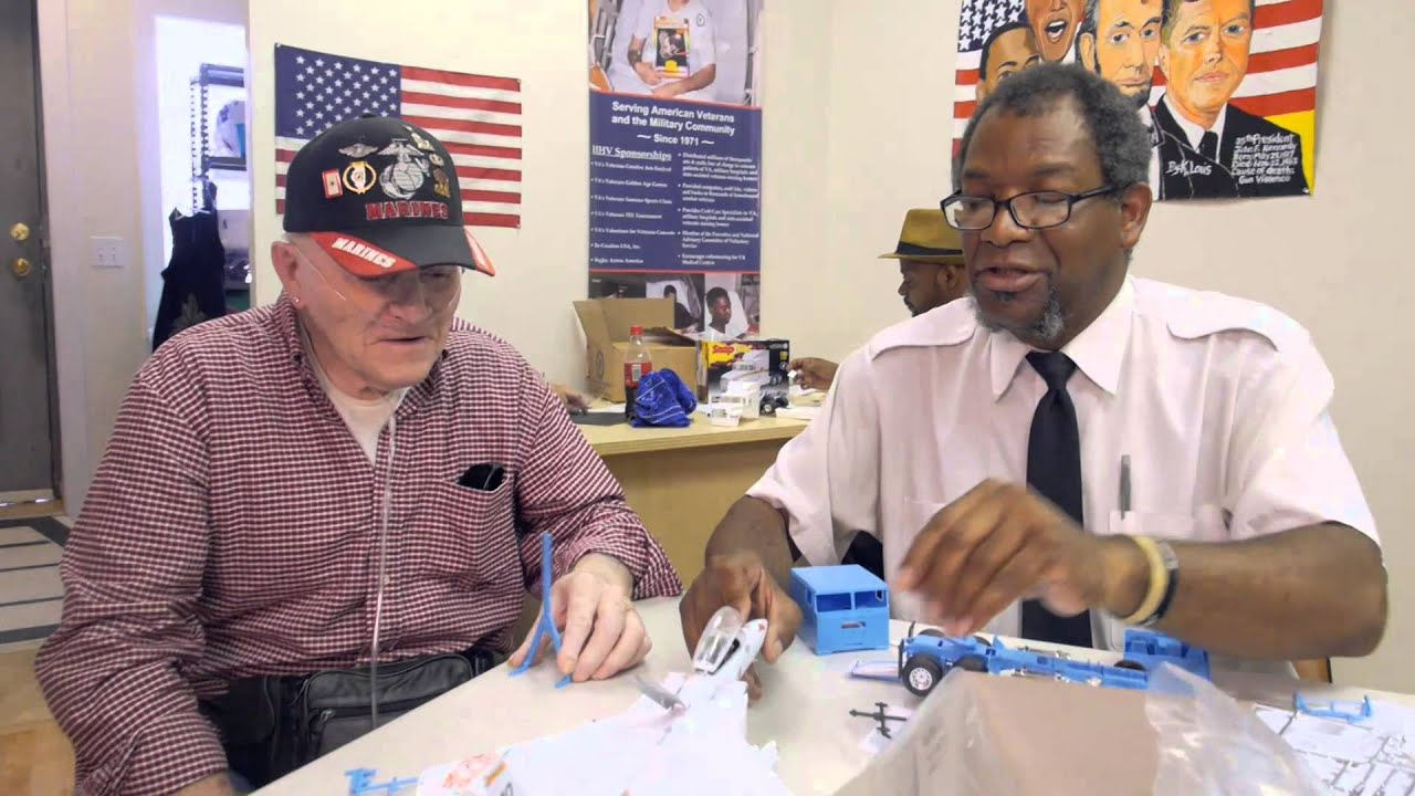 the mission continues: help hospitalized veterans' community based