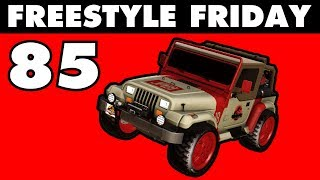 JURASSIC JEEP - Freestyle Friday 85 - Rocket League (JHZER)