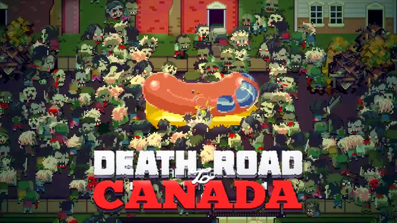 Death Road to Canada Episode 2 - RIP MY FRIEND - YouTube