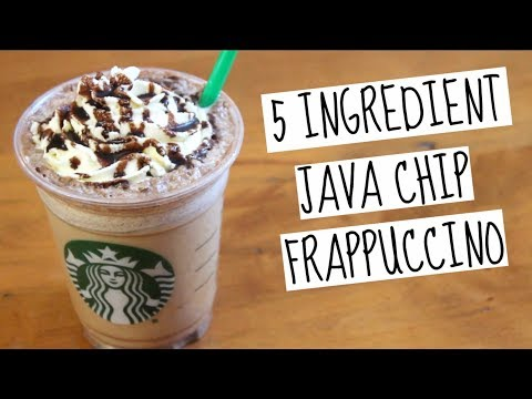 Starbucks Java Chip Frappuccino | SweetTreats