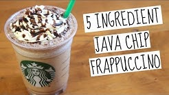 Starbucks Java Chip Frappuccino | SweetTreats