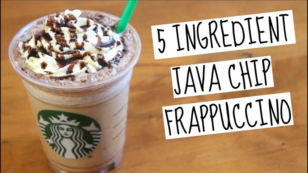 Starbucks Java Chip Frappuccino Sweettreats
