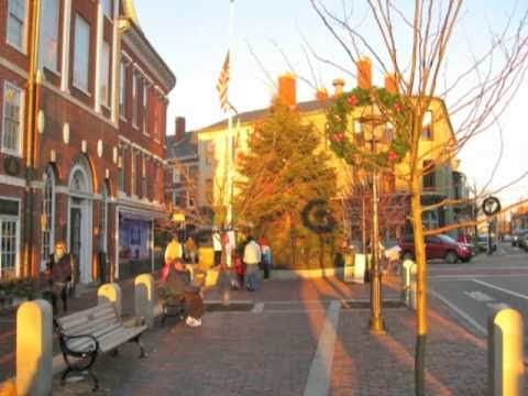 Portsmouth Nh Shopping >> Christmas in Downtown Portsmouth, New Hampshire - YouTube