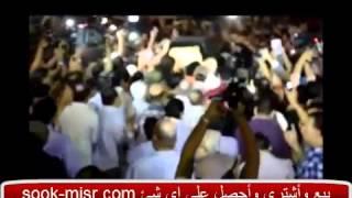 بالفيديو   تشييع جثمان خالد صالح لمثواه الأخير فى جنازة مهيبة