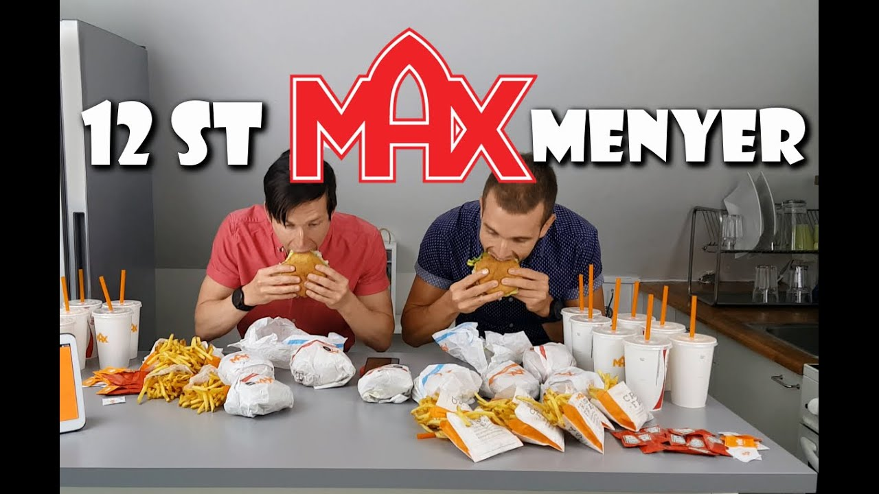 max meny kcal