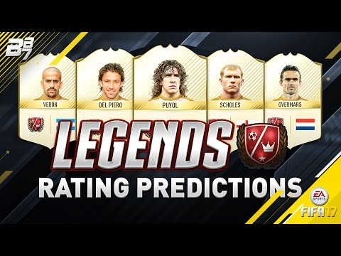 FIFA 17 LEGEND PREDICTIONS! w/ OVERMARS, PUYOL AND DEL PIERO
