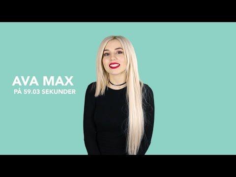 Ava Max på 60 sekunder!