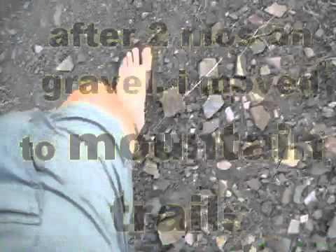 barefoot in boulder