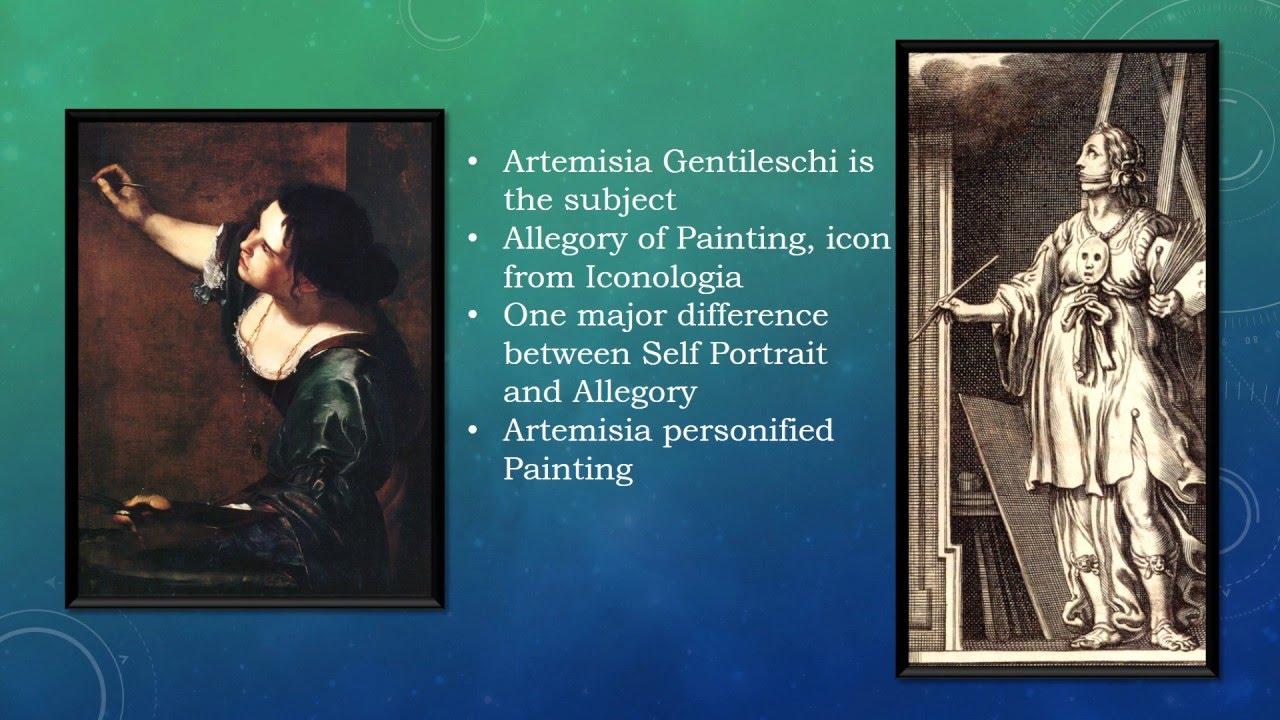 Artemisia Gentileschi Self Portrait As The Allegory Of Painting