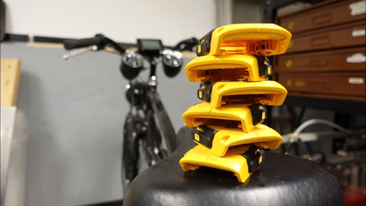 Dewalt 20v X 6 Electric Bicycle Part 4 Battery Mounts
