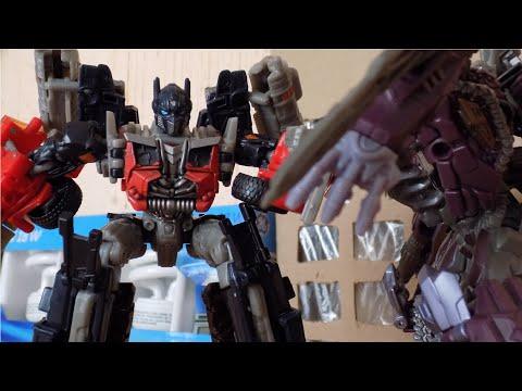 Shockwave Dies / Optimus Rage