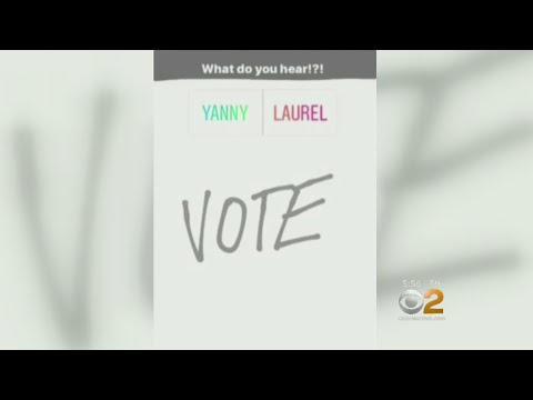 """Yanny Or Laurel"" Debate Divides The Internet"