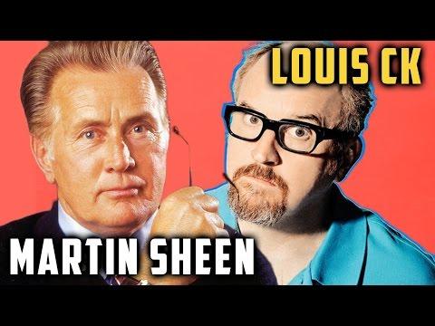Louis CK on Martin Sheen