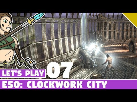 Finishing Dailies, The Elusive Skyshard! #07 Let's Play ESO: Clockwork City