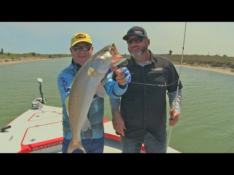 FOX Sports Outdoors SouthWEST #10 - 2018 Corpus Christi Texas Speckled Trout Fishing