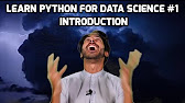 Learn Python for Data Science - YouTube