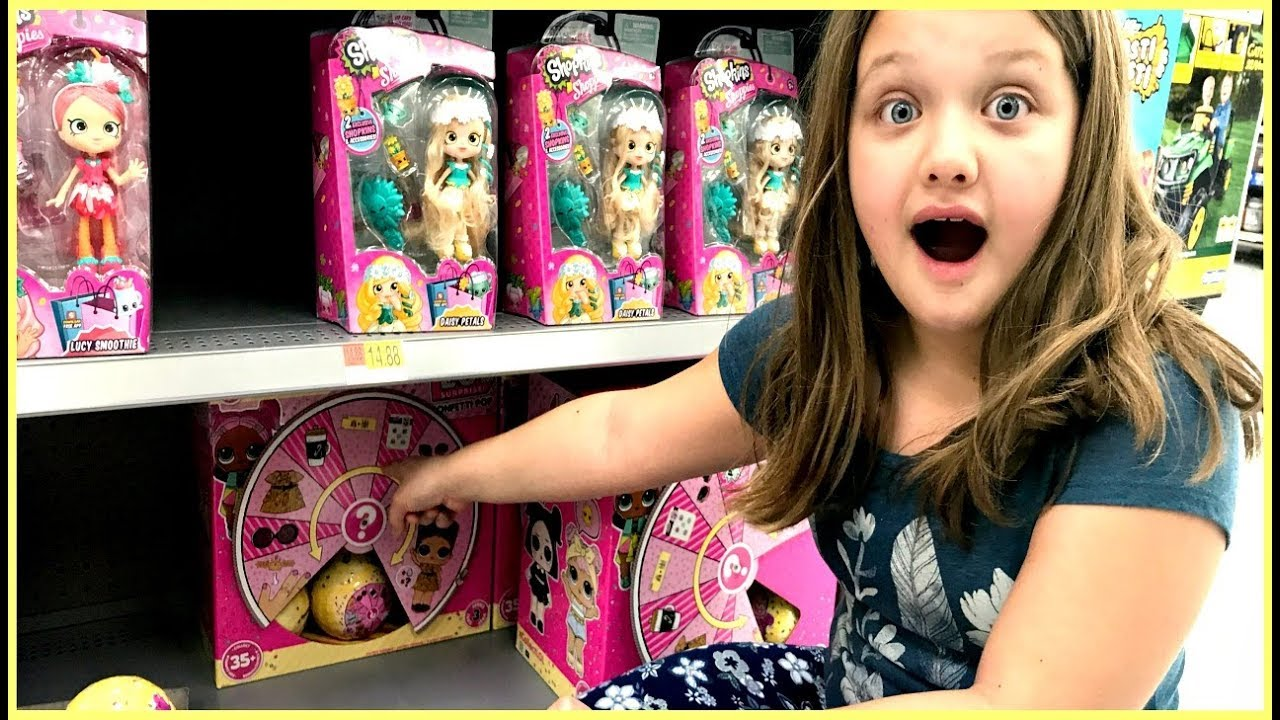 Toy Shopping At Walmart For Lol Dolls Lol Confetti Pop Opening