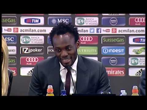AC Milan | Essien: 'Happy to join this club'