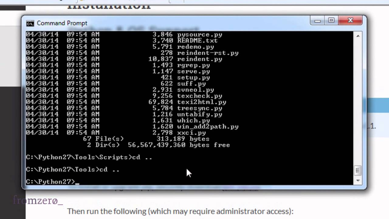 pip install virtualenv virtualenvwrapper error