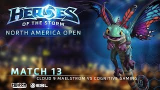 Cloud9 Maelstrom vs COGnitive Gaming - North America July Open - Match 13