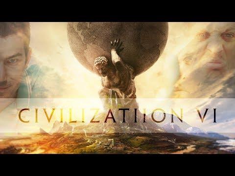 Civilization VI coop Prof & Bill - Ep 1