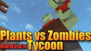 MEGA OBŘÍ ZOMBÍK!😱  ROBLOX: Plants vs Zombies Tycoon #3