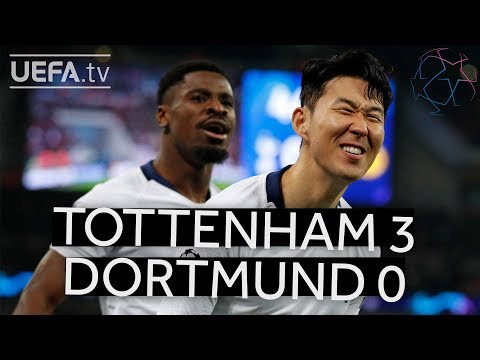 TOTTENHAM 3-0 DORTMUND #UCL HIGHLIGHTS