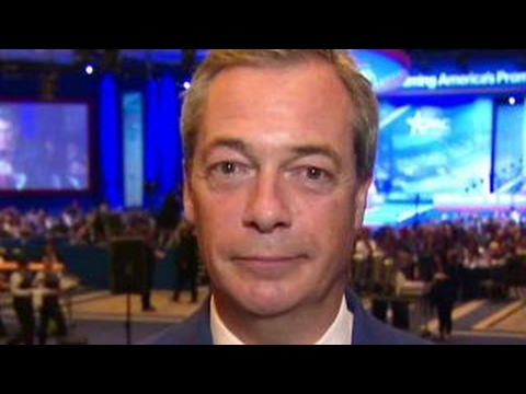 Farage: Trump has brought 'nationism' to White House