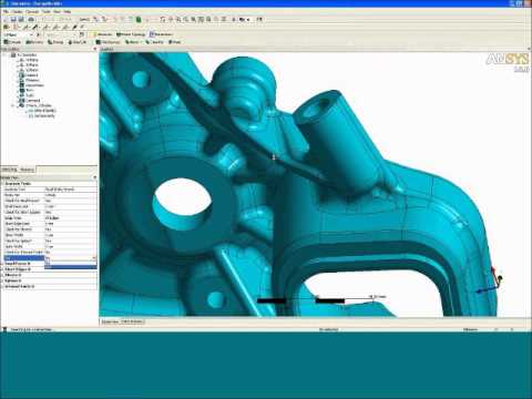 CAD Cleanup | ANSYS e-Learning | CAE Associates