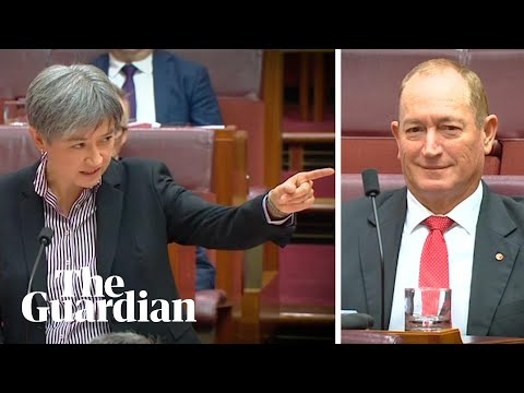 Penny Wong calls out Fraser Anning as 'shameful and pathetic'