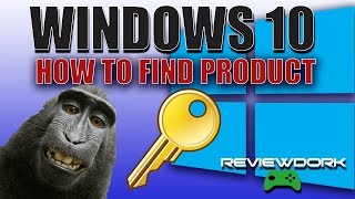 How To Find Windows 10 Product Key - SUPER EASY (2017)(, 2017-02-22T19:51:21.000Z)