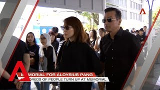 Celebrities, politicians join members of the public at the wake of Aloysius Pang