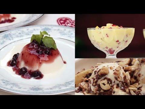 Easy Dessert Recipes Compilation  Ventuno Home Cooking