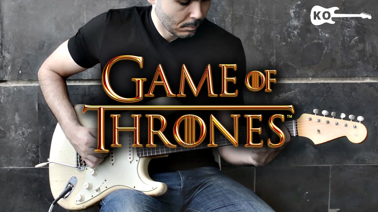 game of thrones theme electric guitar cover by kfir ochaion youtube. Black Bedroom Furniture Sets. Home Design Ideas