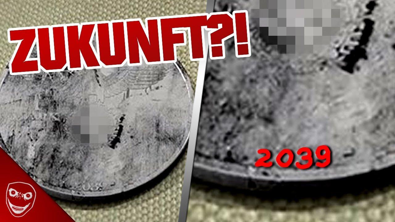 BEWEIS für ZEITREISEN? GRUSELIGE Münze aus dem dritten REICH von 2039!