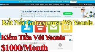 Kiếm tiền với Yoonla: Kết Nối Getresponse với Yoonla
