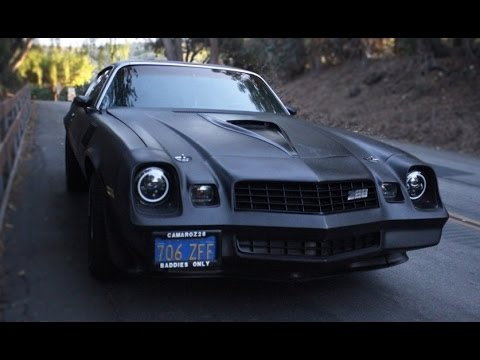 1980 Chevrolet Camaro Z 28 One Take Youtube