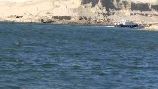 أول فيديو لتمثال الفلاحة والفلاح المصرى على مدخل قناة السويس الجديدة يوليو 2015