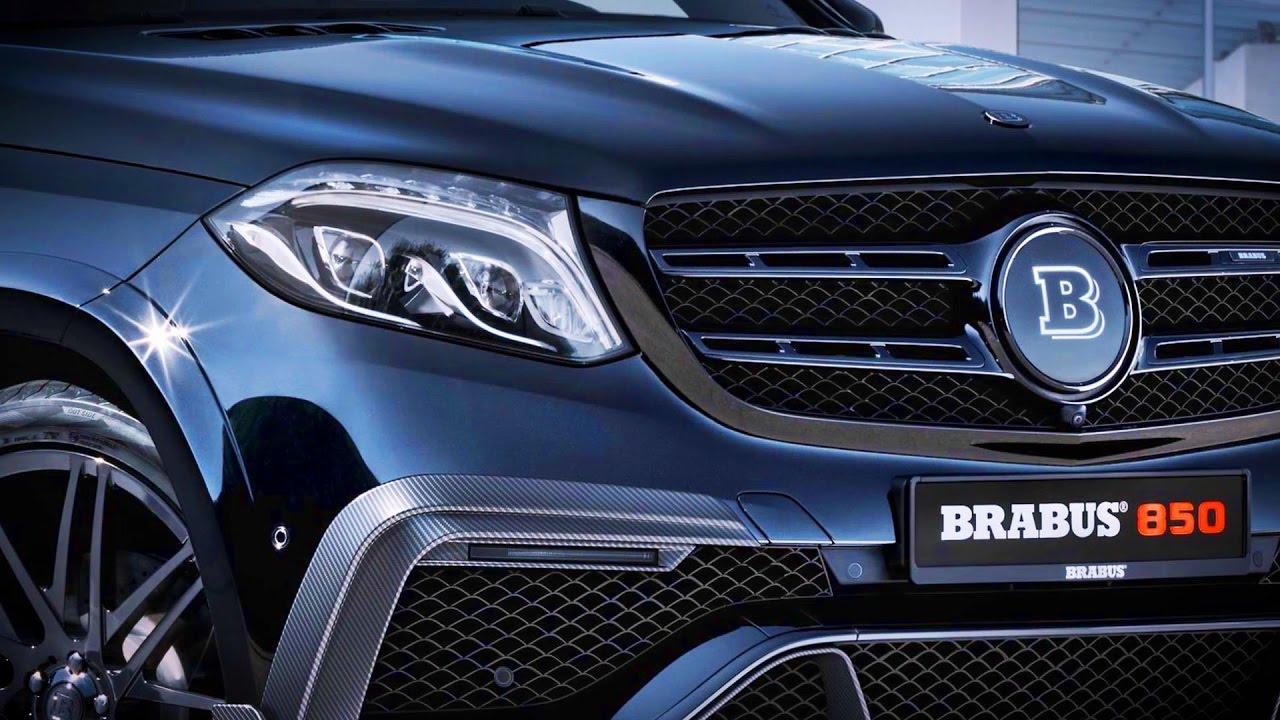 Brabus 850 Xl Based On Mercedes Amg Gls 63 Brabus850xl Youtube