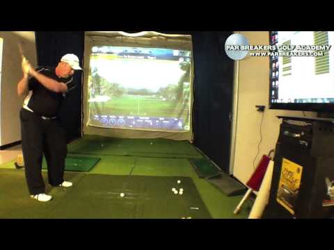 Golf Lesson Sync arms and Body for Solid Ball Striking