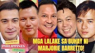 HISTORY ng Mga LALAKE sa Buhay ni MARJORIE BARRETTO at Mga Ka LOVETEAM Niya