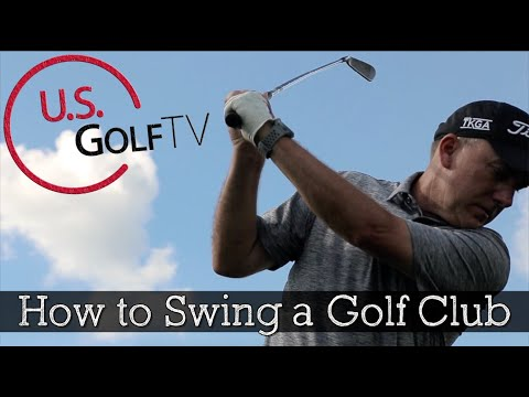 How to Swing a Golf Club Properly - Golf Swing Tips